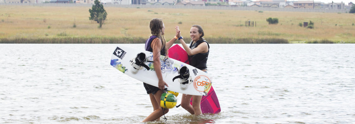 Cable Queens Ladies only wake sessions high five