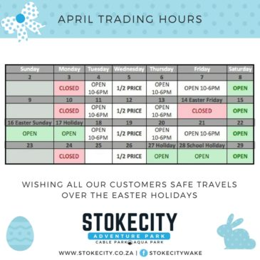 APRIL 2017 TRADING HOURS