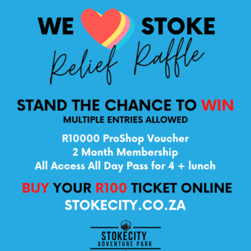 We love Stoke Relief Fund Raffle